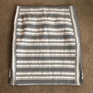 LOFT Aztec Skirt
